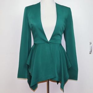 Bebe Emerald Green Blazer